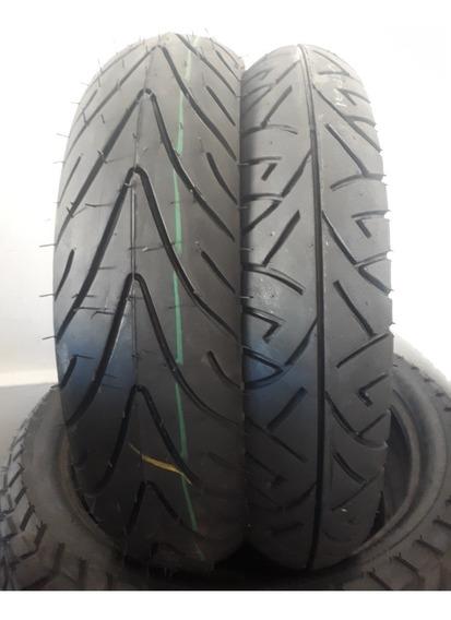 Pneus Moto Par 140/70/17e110/70/17 Twister Fazer E Cb Remold