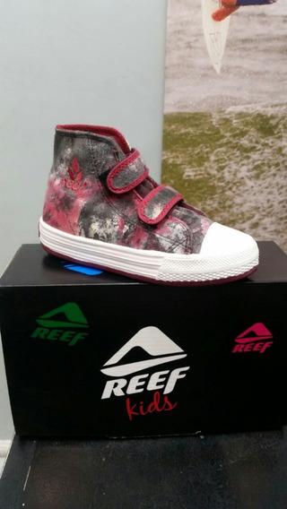 Zapatillas Botitas Reef Estampada. Talle 27 Al 35