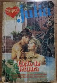 Lição De Ternura Sandra Canfield Livro Raro