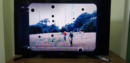 Smart Tv Led 32 Hd Samsung Un32j4300ag Usada E C/ Defeito