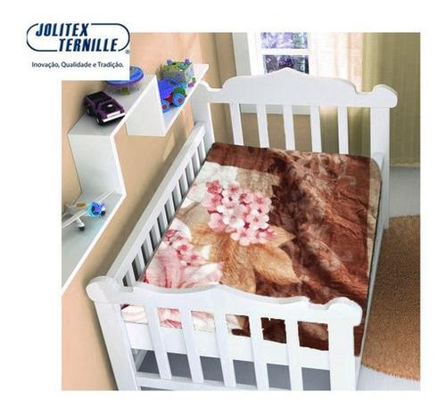 Imagem 1 de 1 de Cobertor Bebe Infantil Jolitex Touch Inv Disney Não Alérgico