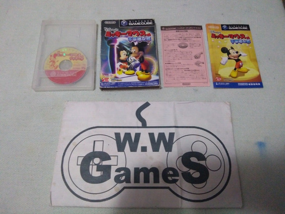 Gamecube - Disney Mickey Mouse Original Japones