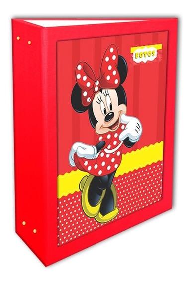 Álbum Minnie Vermelha 10x15 - 360 Fotos + 1 Brinde*