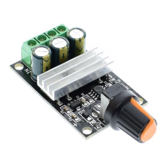 Controlador De Velocidad Para Motor Dc Pwm 6v 12v 24v 48v 3a