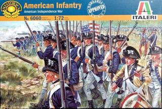 American Infantry Escala 1/72 Italeri 6060