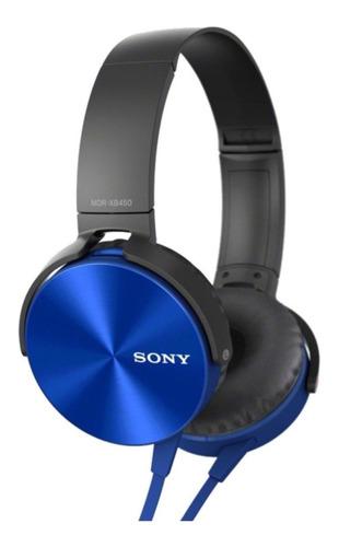 Auricular Vincha Extra Bass Con Micrófono Mdr-xb450ap