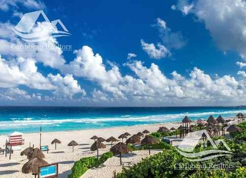 Terreno En Venta En Cancun Zona Hotelera/playa Delfines