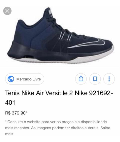 Tênis Nike Air Versatile Tamanho 41