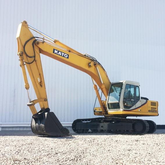 Excavadora Kato Hd820iii (usada), Desde
