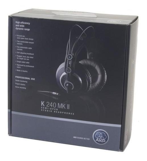 Akg K240 Mkii Original Fone Profissional Studio Dj Mixagem