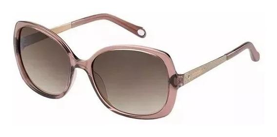 Óculos De Sol Fossil - Original 100% - Preto Degrade