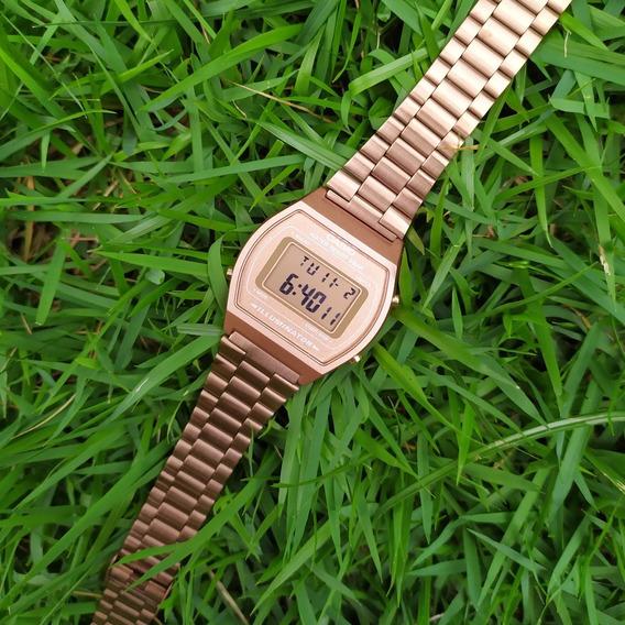Relógio Casio Original B640wc-5adf 50m Vintage Rose C/ Nf