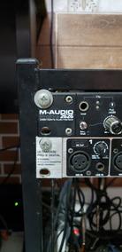 M-audio + Ada8000 Behringer