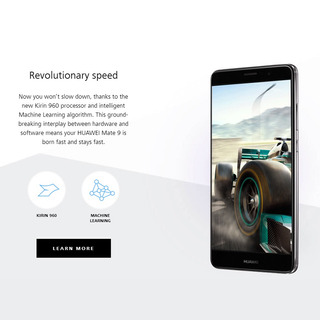 Negro Inteligente Huawei Mate 9 4g Ee. Uu.teléfono
