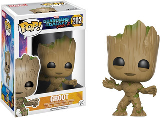 Funko Pop! Guardians Of The Galaxy 2 Groot 202