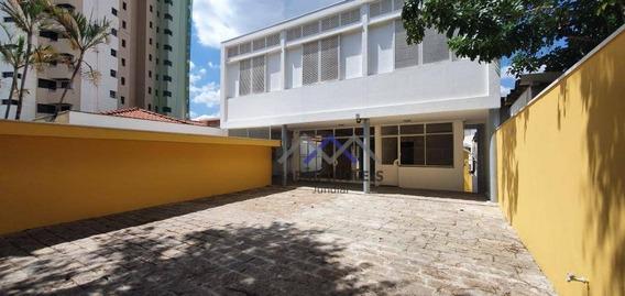 Casa Com 5 Dormitórios Para Alugar, 650 M² Por R$ 20.000,00/mês - Centro - Jundiaí/sp - Ca0791