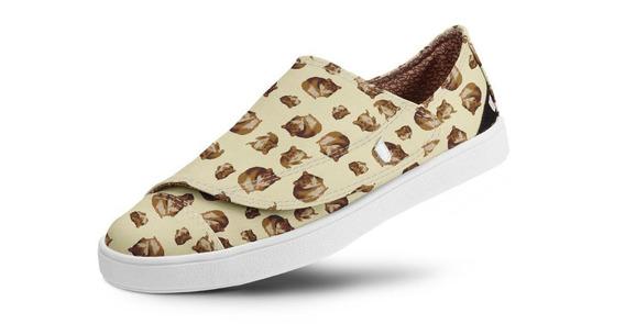 Tênis Usthemp One Vegano Casual Hamster