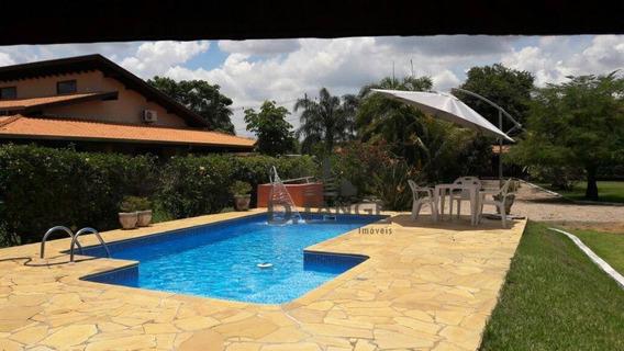 Chácara Residencial À Venda, Loteamento Chácaras Vale Das Garças, Campinas. - Ch0358