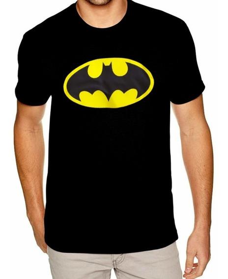 Camisa Do Batman Camiseta 100% Algodão, Ótima Qualidade Top!