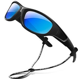 Rivbos Rbk037 Gafas De Sol Polarizadas De Goma Con Correa Pa