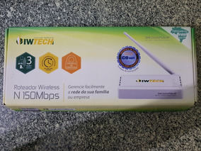 Roteador Wireless Oiwtech N150mbps