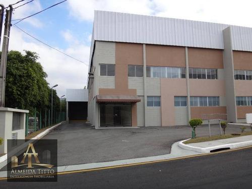 Excelente Galpão Para Locação Em Santana De Parnaíba - Próximo Ao Centro - Confira!!! - Ga0090