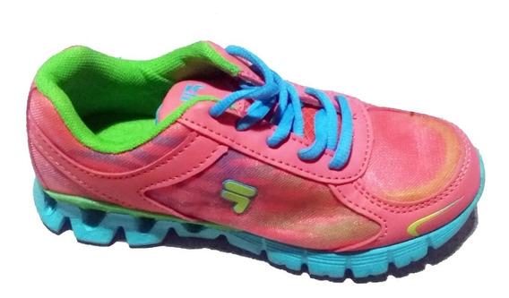 Zapatillas Fila Running Niñas Importadas Nuevas