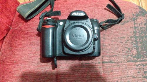 Câmera Digital Nikon D50 Sem Lente (não Sei Se Funciona)