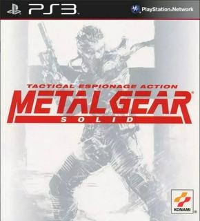 Metal Gear Solid Clasico Ps3 Original-play Perú