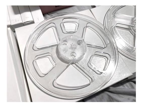 03 Carretéis Plástico Para Tape Deck De Rolo 7 Polegada Novo