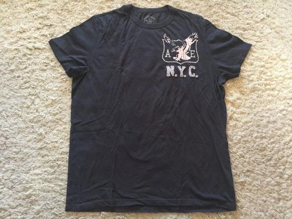 Camiseta American Eagle Original Tamanho Gg Importada Zerada