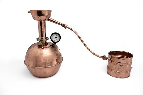 Alambique De Cobre 100 Litros, Cachaca + Brinde