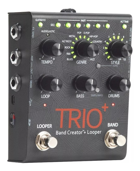 Pedal Digitech Trio Band Creator Plus Looper