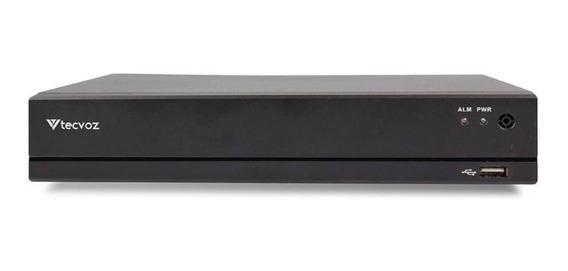 Gravador Digital Tecvoz Dvr H265 Serie L 1080n 4 Canais