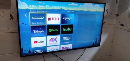Tcl Americana P607  Roku Tv Com Dolby Vision 4k Hdr