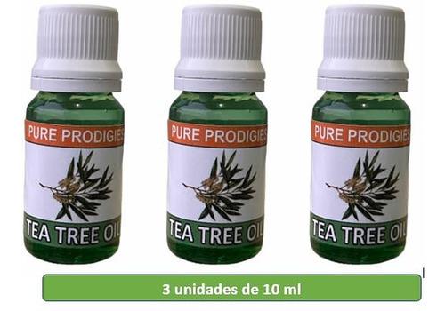 Aceite Esencial Árbol De Té Tea Tree 3 Unidades