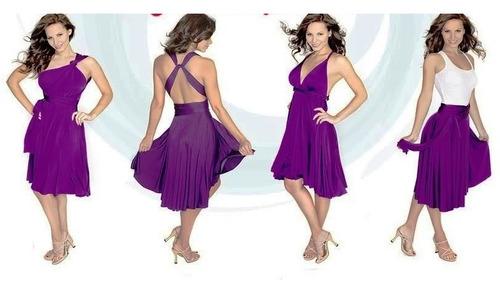 Vestido Vanesa Multivestido Multiuso Modal 10 En 1 Jean