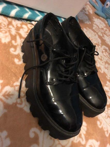 Zapatos Nazaria De Charol (poco Uso)