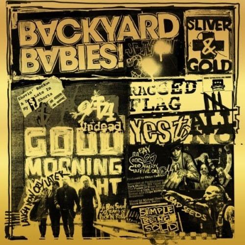 Cd Backyard Babies-silver And Gold !hard Rock 2019