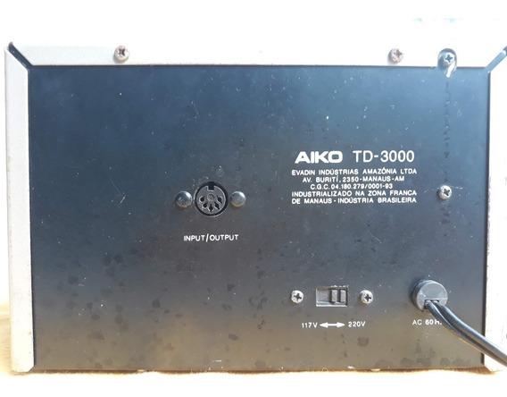 Tape Deck Aiko - Td-3000 Em Ótimo Estado - Assistam O Vídeo!