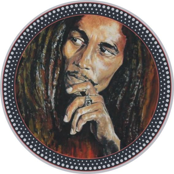 3 Feltros Bob Marley Vinil, Disco - Colecionador Raro
