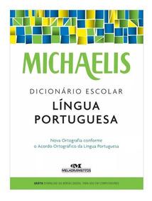 Dicionário Língua Portuguesa Michaelis Melhoramentos