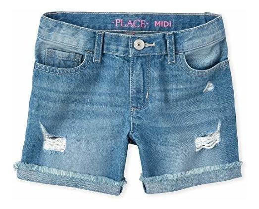 Los Pantalones Cortos De Mezclilla Para Ninas De La Casa De