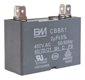 Capacitor Cbb61 2uf 450v Split/acj - Original Gree