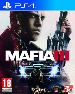 Mafia 3 Juego Ps4 Envio Inmediato