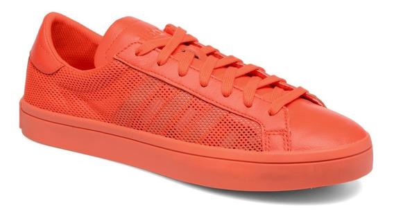 Zapatillas Originals Courtvantage Naranja