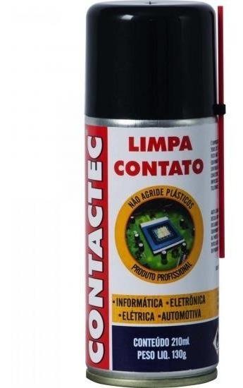Limpa Contato Spray 130g Contactec Implastec