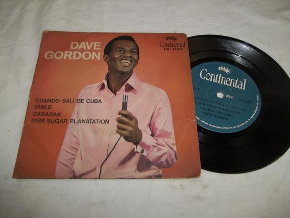 Vinil Compacto Ep - Dave Gordon - Cuando Sali De Cuba