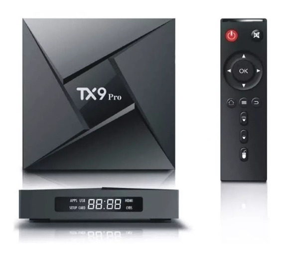 Transforma Tv Smat Tx9 Pro 4 Gb 32gb Rom Octacore Bluetooth