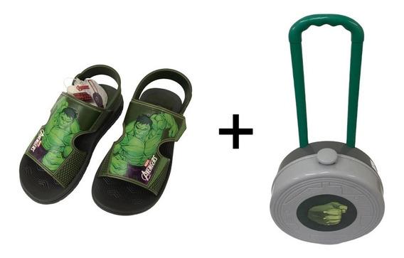 Sandália Infantil Grendene Avengers Hero Pack Hulk - Grenden